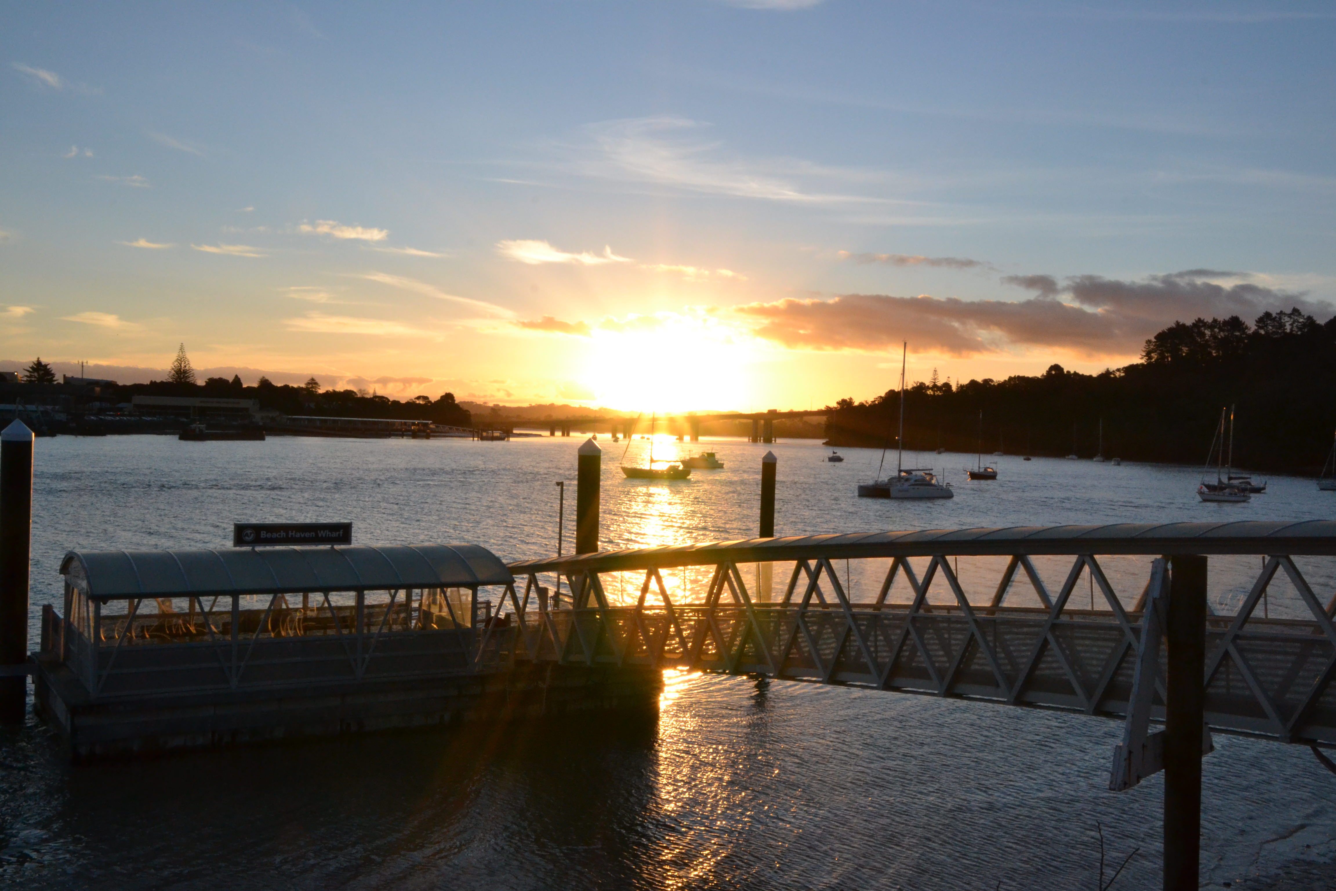 Sunset at Birkenhead